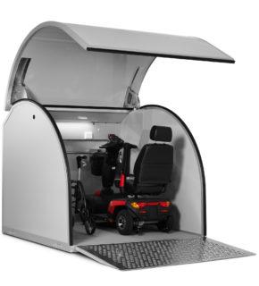 Garage för rullstol eller scooter